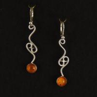Amber Earrings 207