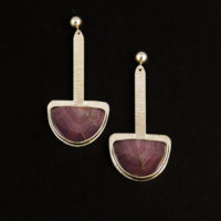 Coyamito Agate Sterling Earrings 227